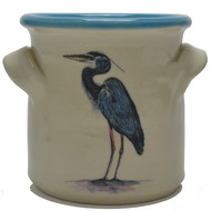 Small Crock - Heron