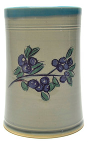 Utensil Holder - Traditional With Coastal Blue Liner