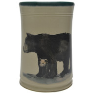 Utensil Holder - Black Bear