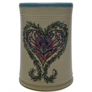 Utensil Holder - Heart