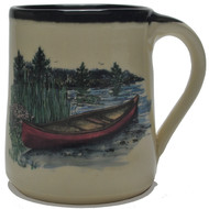 Coffee Mug - Canoe