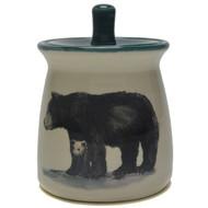 Sugar Jar - Black Bear