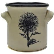 Small Crock - Sunflower