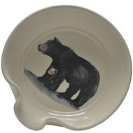 Spoon Rest - Black Bear