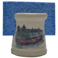 Sponge Holder - Canoe