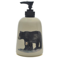Soap Dispenser - Black Bear