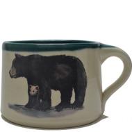 Soup Mug - Black Bear