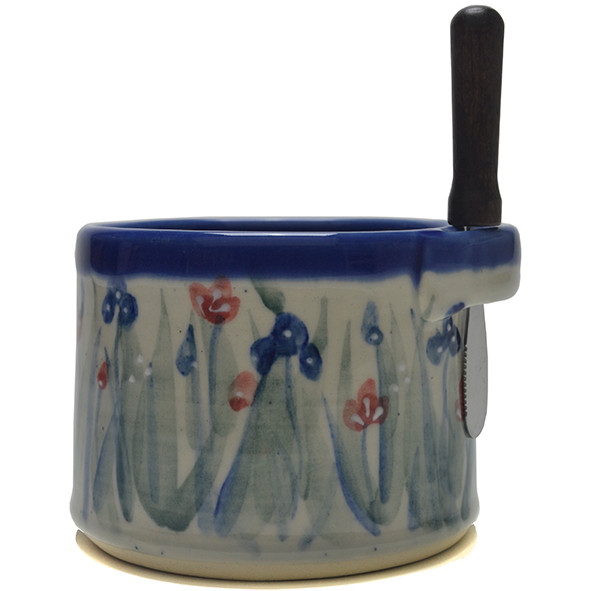 Dip Bowl With Spreader Knife Emily S Flowers Great Bay