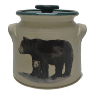 Bean Pot, 2 QT - Black Bear