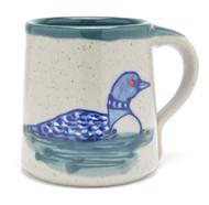 Coffee Mug - Loon - Green Liner