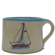Soup Mug - Sailboat