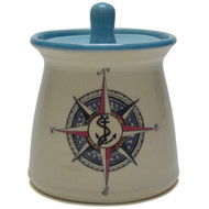 Sugar Jar - Compass Rose