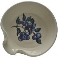 Spoon Rest - Blueberries