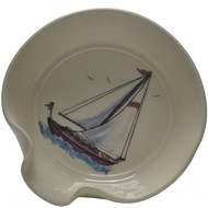 Spoon Rest - Sailboat