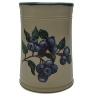 Utensil Holder - Blueberries