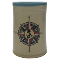 Utensil Holder - Compass Rose