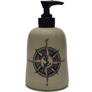 Soap Dispenser - Compass Rose