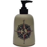 Soap Dispenser - Compass Rose