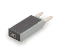 21130-00 Cooper Bussmann Type 1 mini circuit breaker, auto reset, 30 amps, 14 vdc