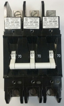 EA3-B0-24-670-31E-DC, 70 amps, E series, Carling Tech, circuit breaker, 3 pole, handle type