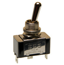 single pole on-on toggle switch, solder terminals
