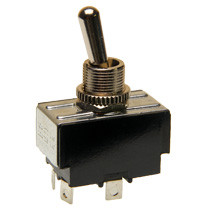double pole on-off toggle switch, solder terminals