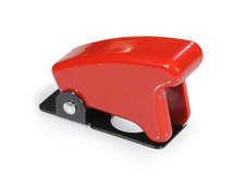 Toggle Switch Guard, Returns Lever to Off Position, Red