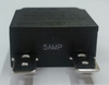 mechanical products 5 amp push to reset circuit breaker, black button, quick connect terminals, 1480-303-050
