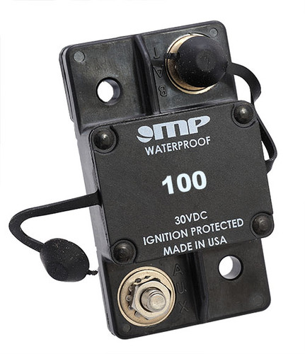 Mechanical Products Type 1 Auto Reset 100 amp Breaker 171-S0-100-2