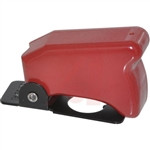 Eaton Toggle Switch Guard, Red, Military grade, commercial, 8497K1C, MS25224-1