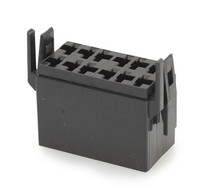 Terminal Connector Housing for L Series Rocker Switch, Black