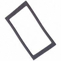 Carling Contura V Series panel seal, external, VPS, black, 999-16543-001