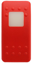 VVA9S00-000 Carling Contura 2 Hard Red Actuator, 1 white square lens