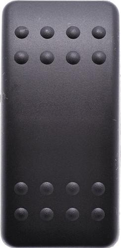 Carling, Actuator, V series, cap, rocker, black, no lens, 464-11061-004
