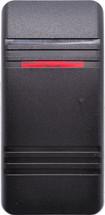 VVCMB00-000 Carling Contura 3 Soft Black Actuator, 1 red bar lens