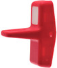 Carling Rocker Switch Paddle Actuator, Red with one white square lens