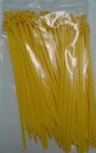 Self Locking Standard Nylon Cable Tie. Yellow