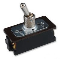 Heavy duty toggle switch, double pole, on off, screw terminals, Carling, EK204-73