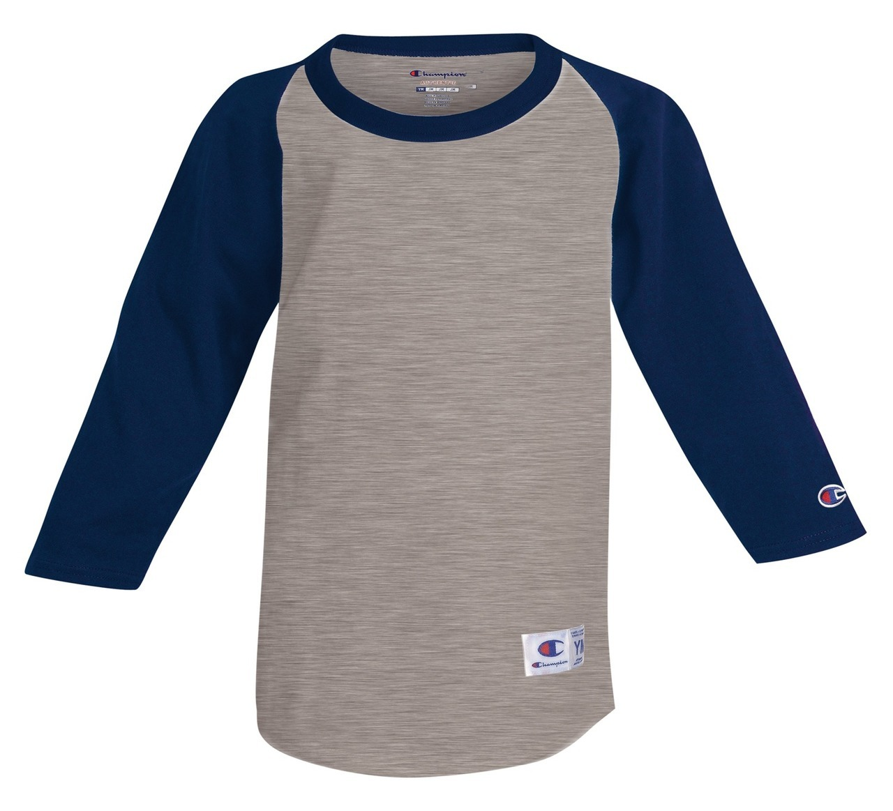 Champion Youth Raglan Baseball Tee