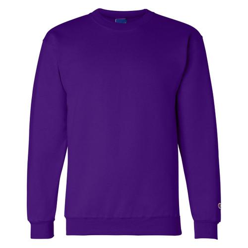 Purple Front Champion S600 Powerblend Eco Fleece Crew | Athleticwear.ca