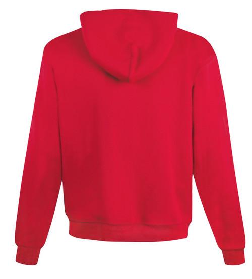 Scarlet Back Champion S800 Powerblend Eco Fleece Full Zip Hoodie | Athleticwear.ca