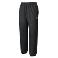 Black RW10 Reverse Weave Pant With Pockets