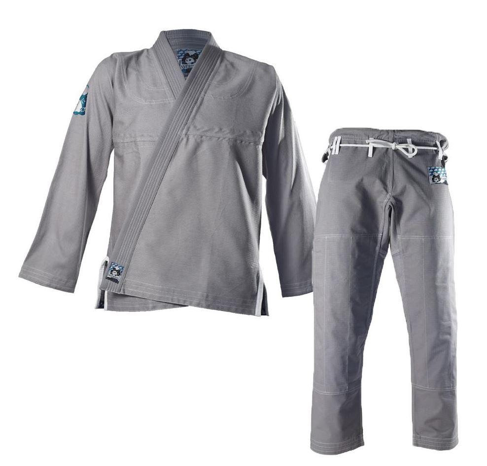inverted gear light pearl grey jiu jitsu gi the jiu jitsu shop