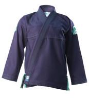Inverted Gear Navy Blue Bamboo Jiu Jitsu Gi @ www.thejiujitsushop.com
