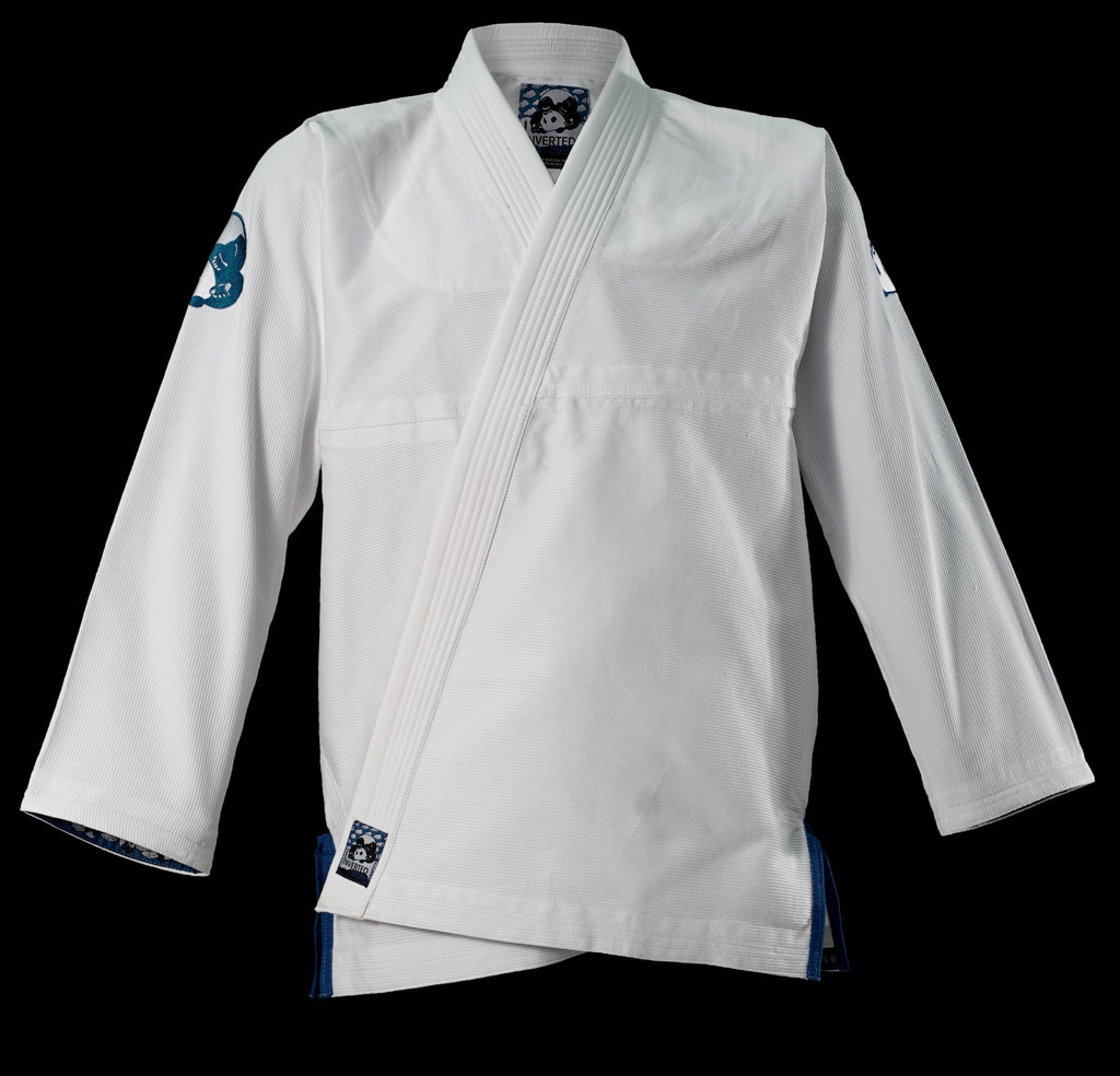 inverted gear white light pearl weave gi the jiu jitsu shop