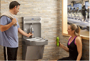 elkay and halsey taylor replacement water filters are designed for drinking water fountains and sports bottle filling stations these filters reduce the
