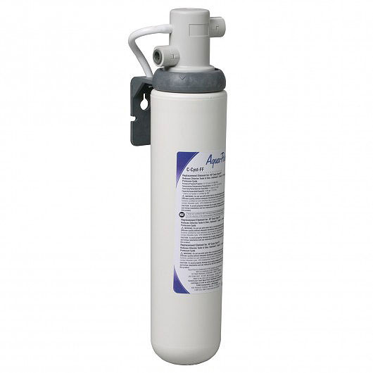 company products  aqua pure under sink full flow water filter system cyst