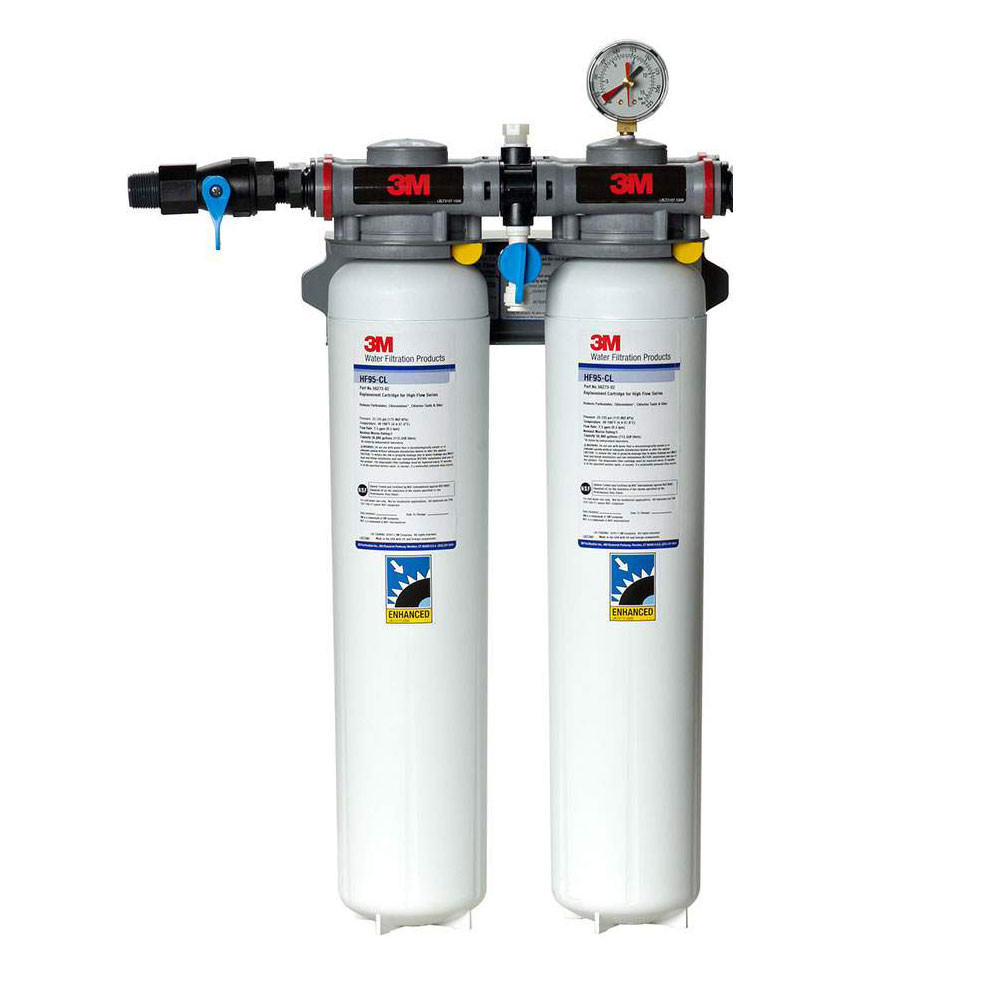 3m hf295 cl chloramine water filtration system for Water feature filtration system