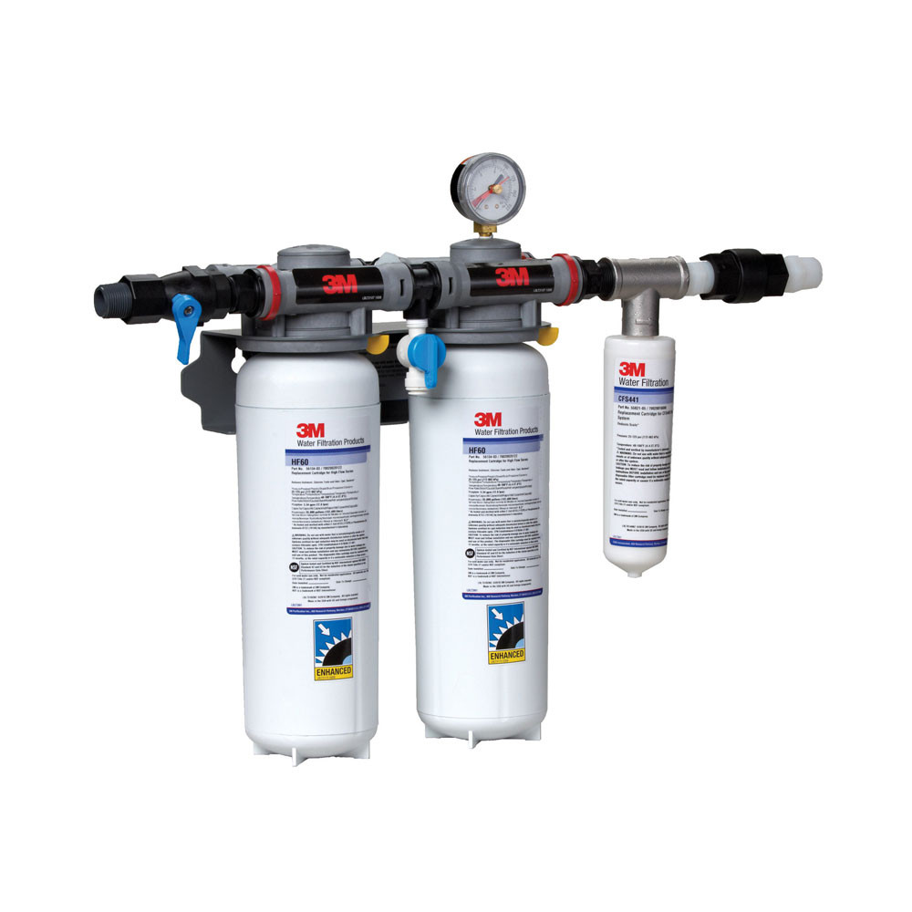 3m dp260 dual port water filtration system for Water feature filtration system