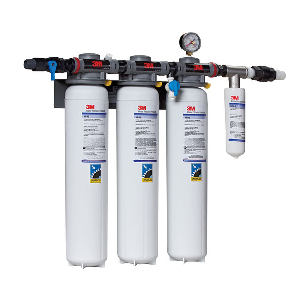 3m dp390 dual port water filtration system for Water feature filtration system